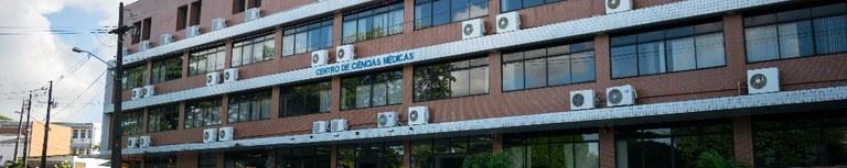 Fachada do prédio do CCM