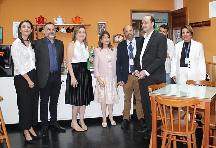 Ministro da educação no Café com Arte